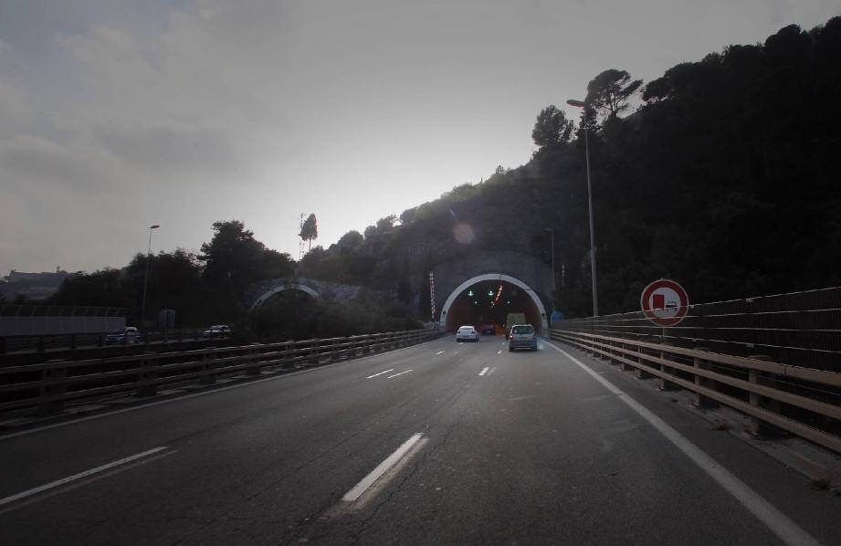 Le tunnel de la Baume.