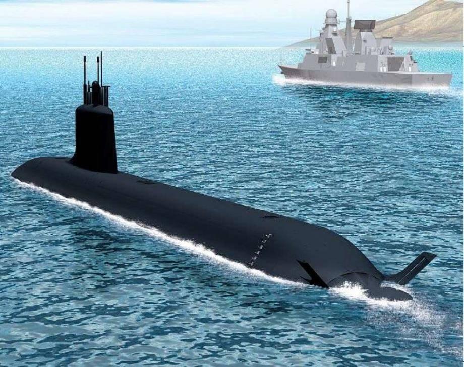 L'entretien des sous-marins nucléaires d'attaque de type Barracuda en balance entre Brest et Toulon.(Illustration ministère de la Défense)