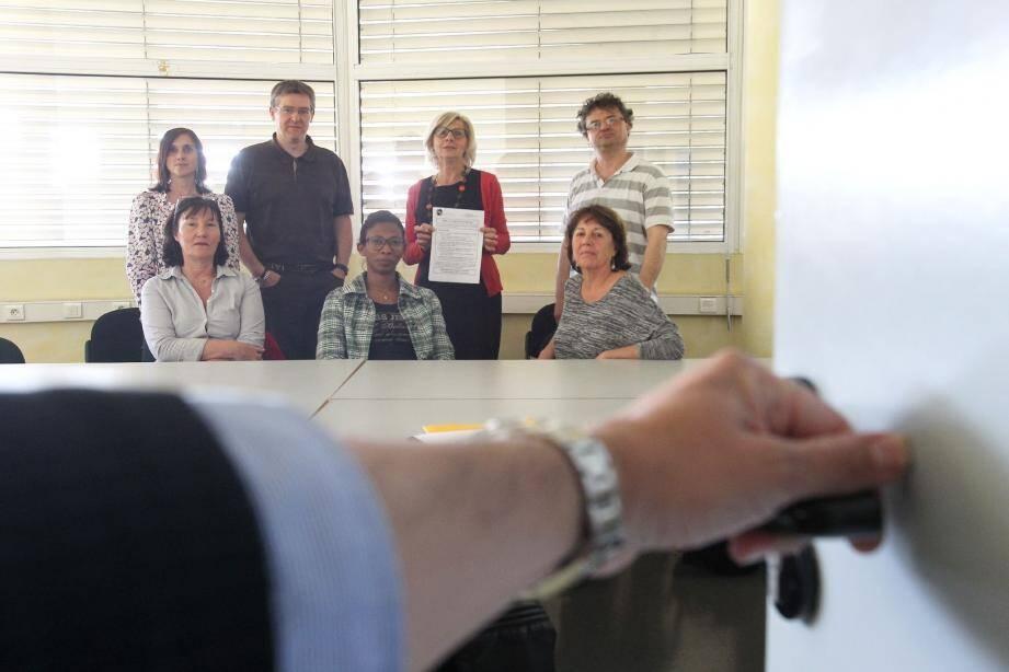 Les psychologues du CHITS, en grève hier, ont tenu une assemblée générale à l'hôpital George-Sand de La Seyne en fin d'après-midi.