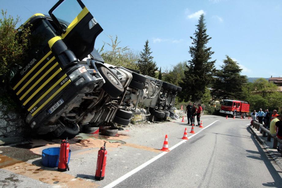 Accident Peillon