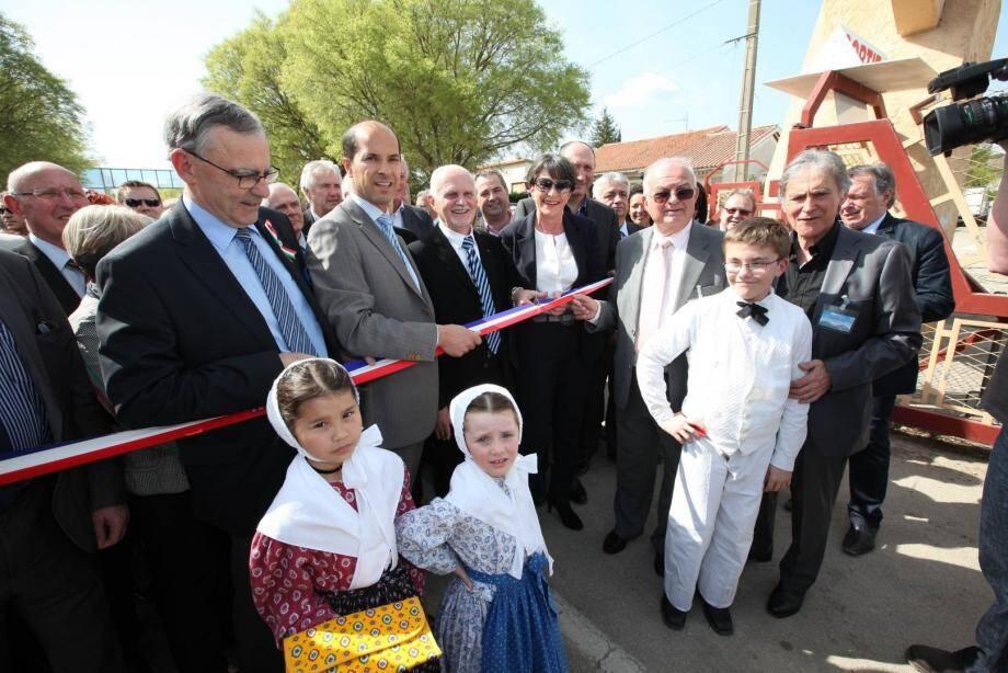 Josette Pons, maire de Brignoles, inaugure la Foire