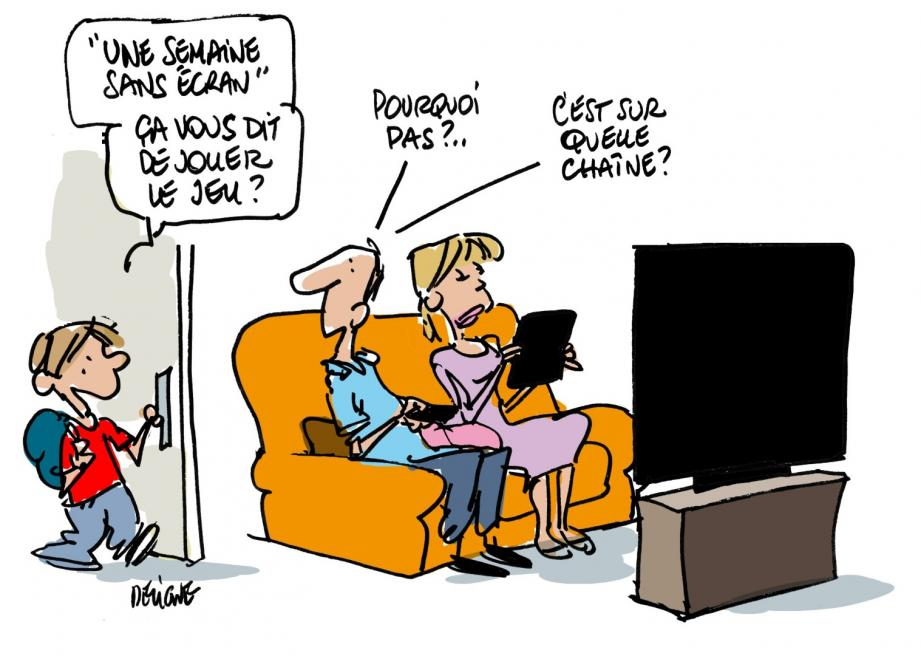 Une semaine sans écrans pour des écoliens Toulonnais