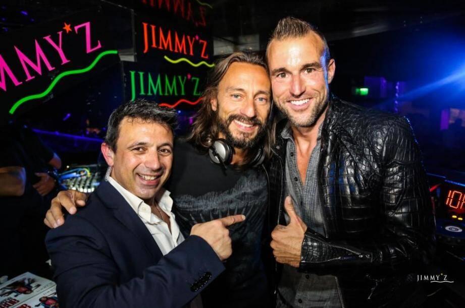Bob Sinclar est venu à Monaco la semaine dernière au Jimmy'z.