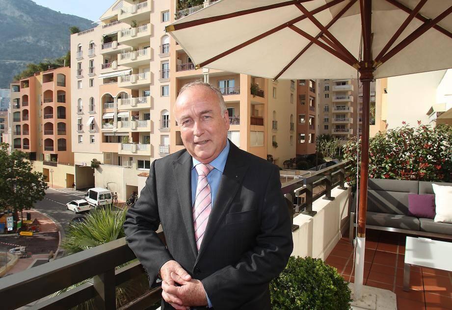 Alexandre Pierre Faidherbe, directeur général du Columbus Monte-Carlo.
