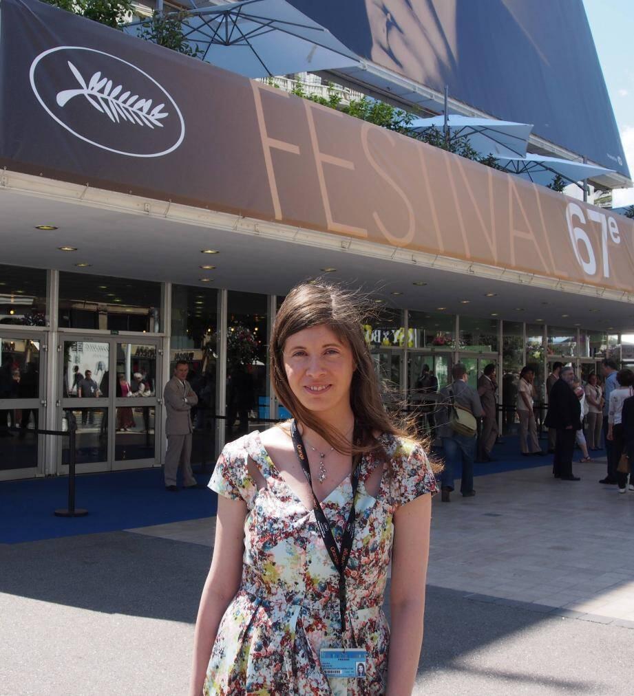 La blogueuse de In the mood for Cannes, Sandra Mézière