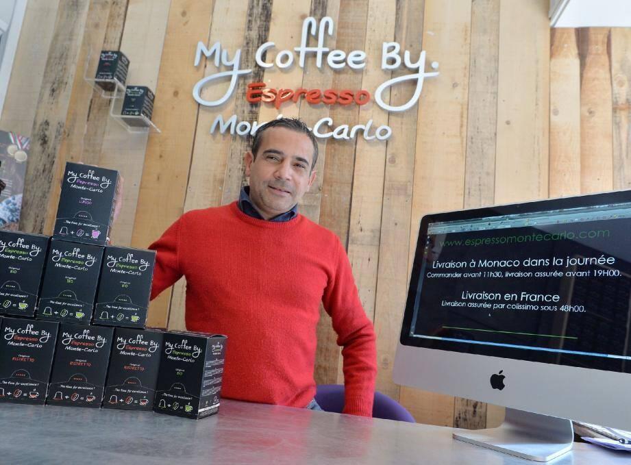 Ce sont les capsules les plus rapides du sud-est ! Mario Falchi propose une livraison de son café à Monaco le jour-même si la commande a été passée avant 11 h 30.