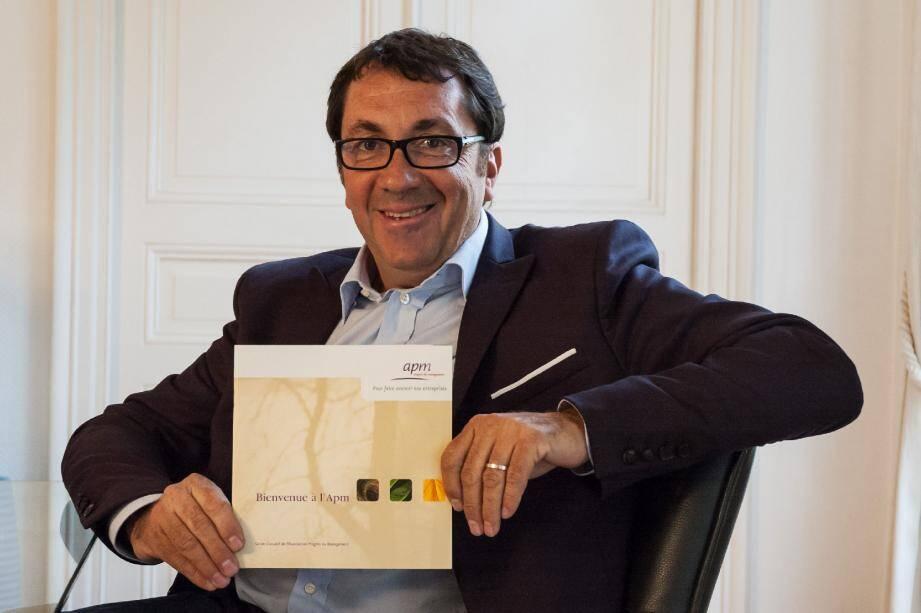 Bruno Valentin, président du club niçois : « L'APM, c'est se nourrir et s'ouvrir au nec plus ultrades pratiques managériales. » (D.R.)