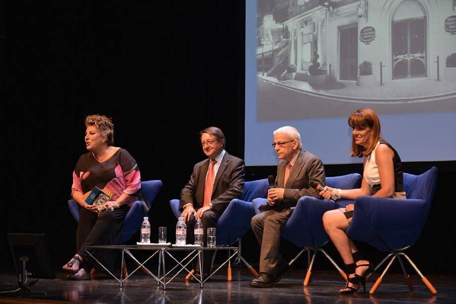 La saison 2014-2015 a été dévoilée hier, sur la scène du théâtre Princesse-Grace en présence de la comédienne Marianne James, programmée les 12 et 13 mars 2015.
