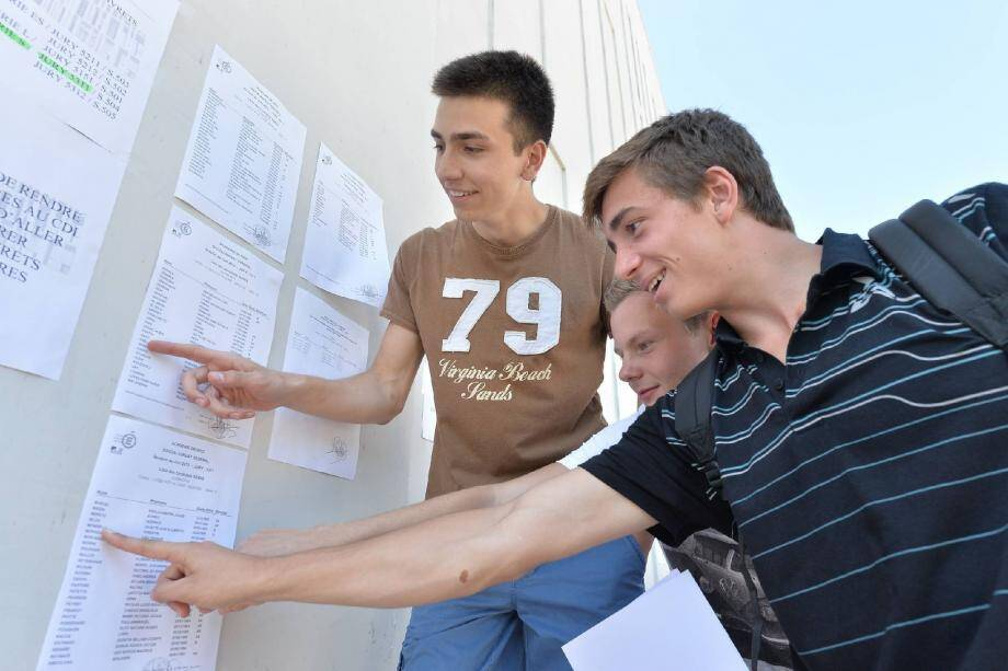 Comme l'année dernière, c'est au lycée Pierre et Marie Curie de Menton que les candidats monégasques devront aller chercher leur résultat le 4 juillet.