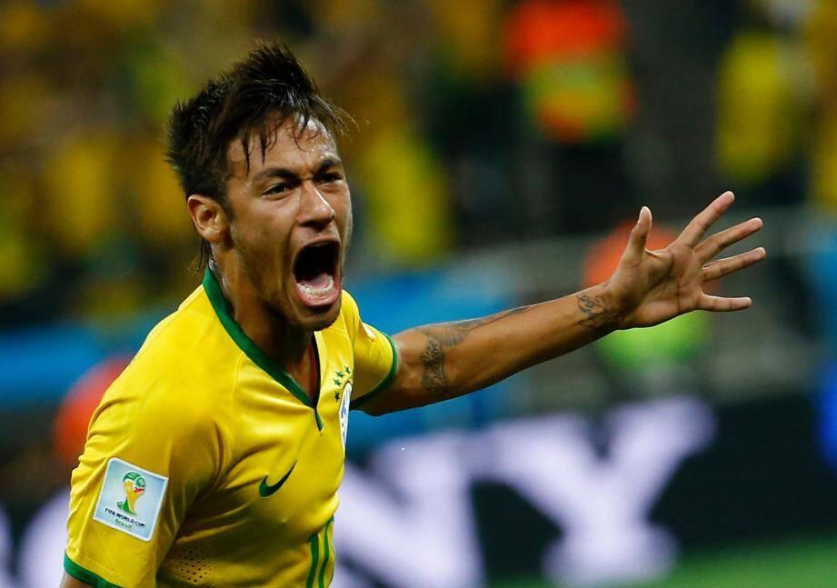 Le Barcelonais Neymar a été le meilleur joueur du Brésil, ce jeudi.