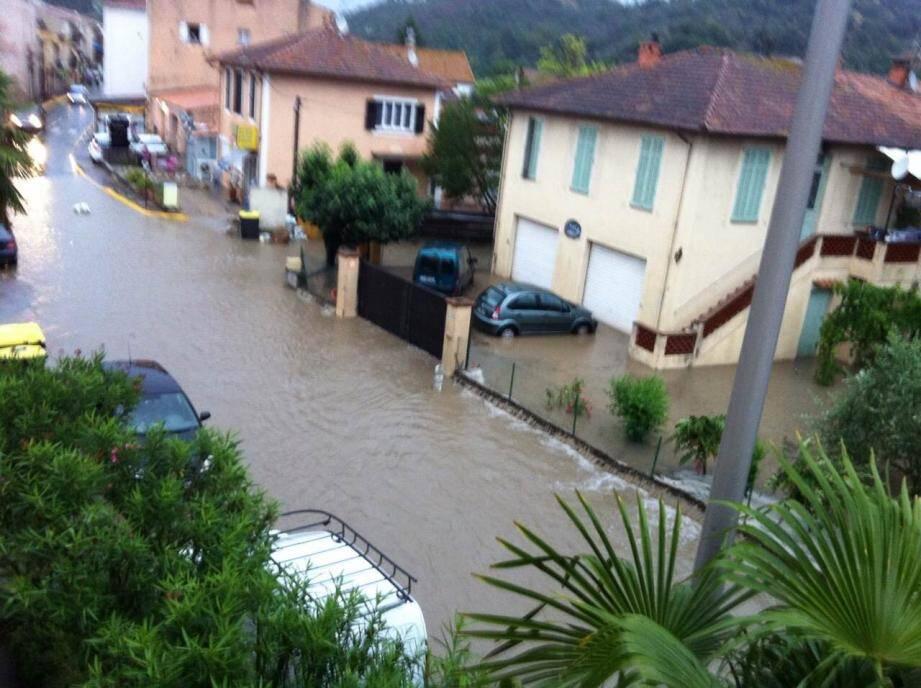inondation grasse