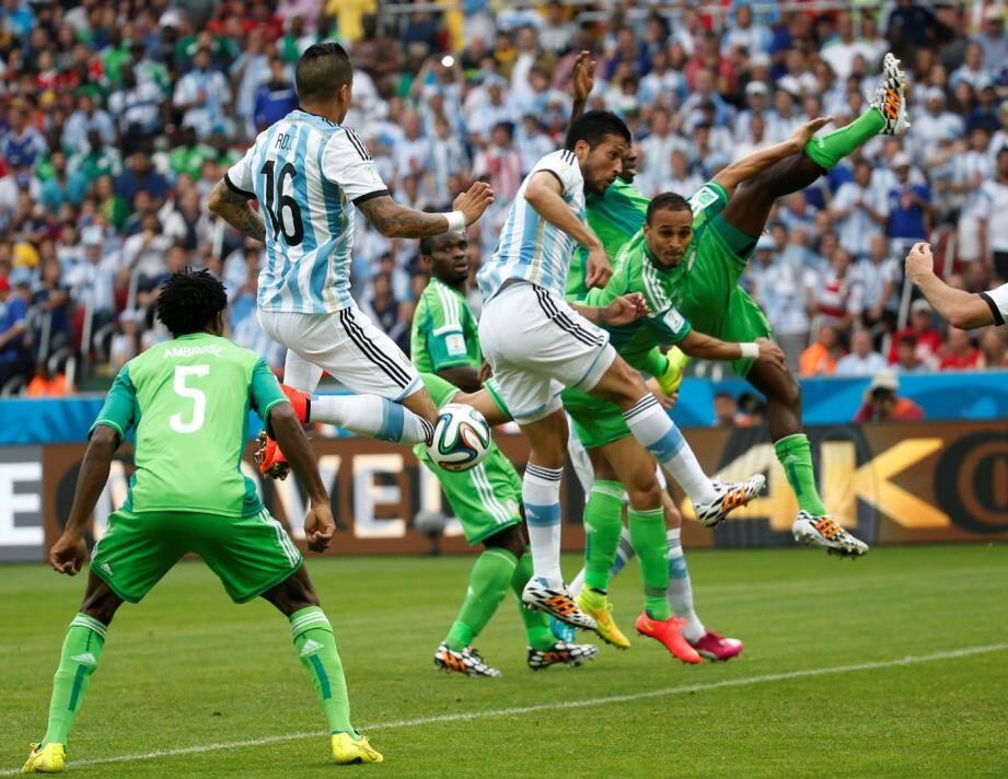 L'Argentine a battu le Nigeria dans le dernier match du groupe F de la coupe du monde 2014.