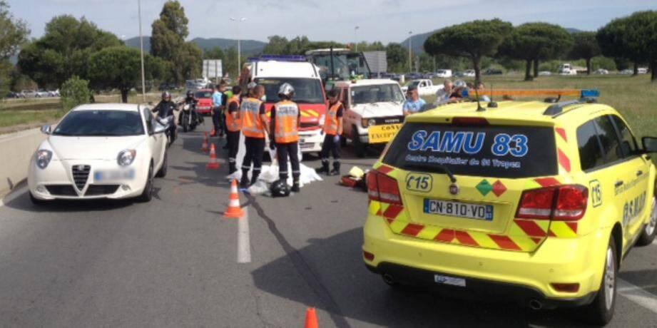 Un conducteur de scooter décède à Gassin