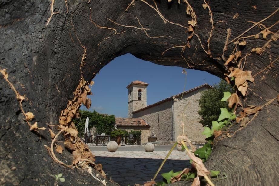 Le village de Cabris.