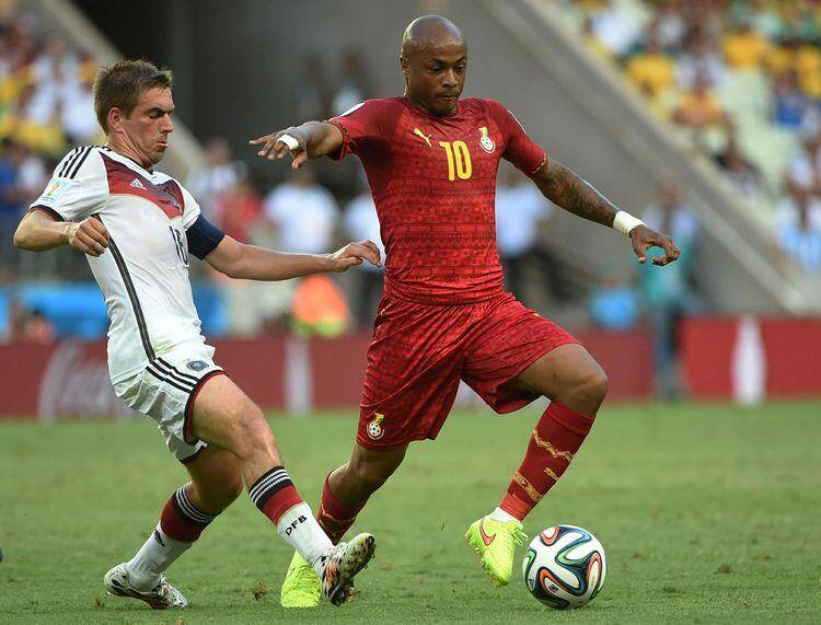 allemagne ghana mondial coupe du monde 2014 lahm ayew andre 140621