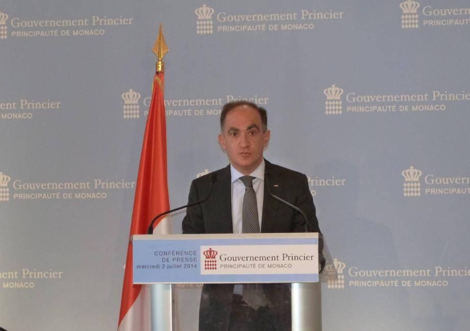 Jean Castellini, le conseiller de gouvernement pour les Finances et l'Économie, a annoncé que le déficit prévisionnel sera moindre que prévu dans le budget primitif.