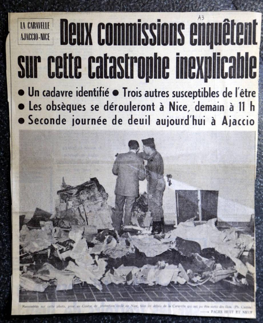 Le crash avait fait 95 morts le 11 septembre 1968.(Repro D.R)