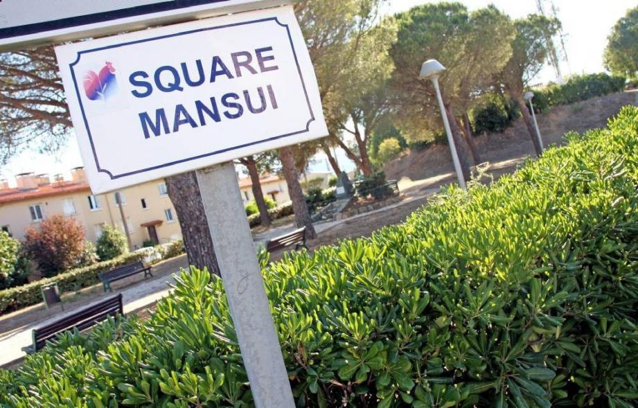 Le square Mansui et le terrain contigu garderont ce nom hommage à un résistant cogolinois.