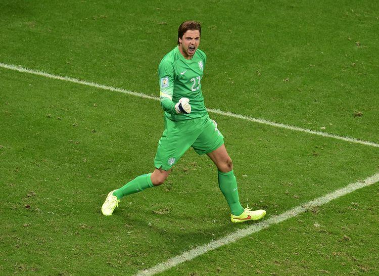 Tim Krul gardien pays bas costa rica mondial coupe du monde 2014 140706