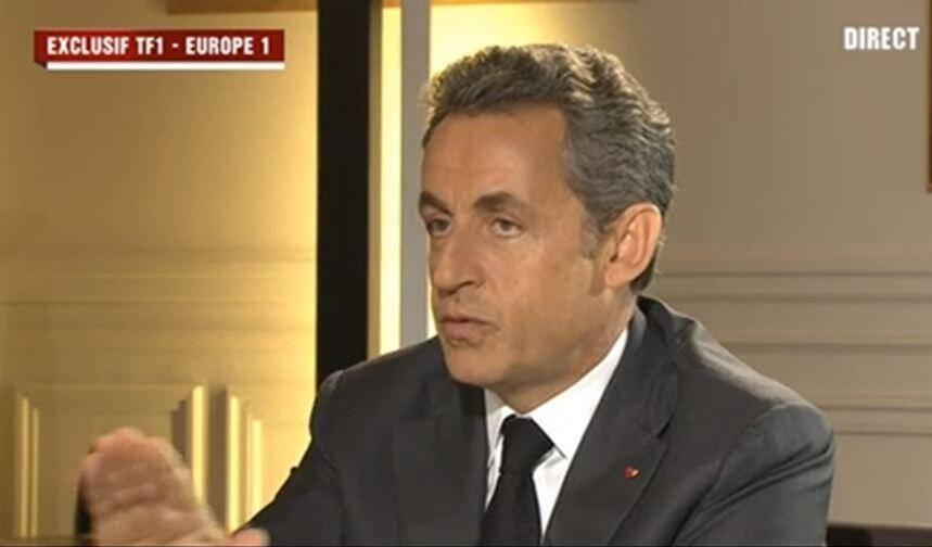 Nicolas Sarkozy s'explique sur TF1