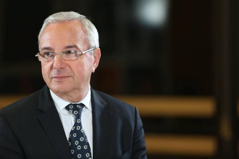 Jean Leonetti, député UMP des Alpes-Maritimes et maire d'Antibes-Juan-les-Pins.