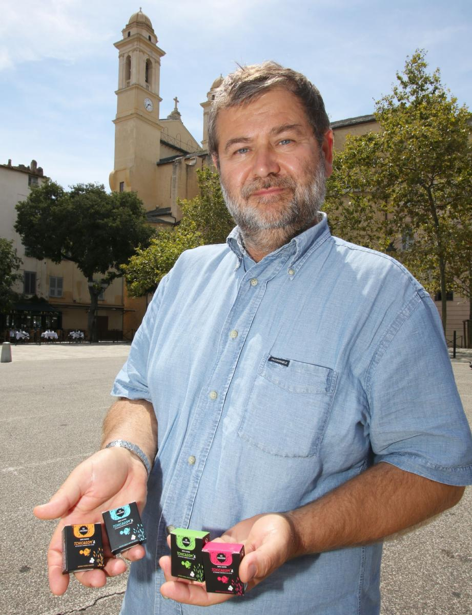Le Tchicagom'a , fruit de deux ans et demi de recherches, est désormais commercialisé en Corse et sur le Continent.