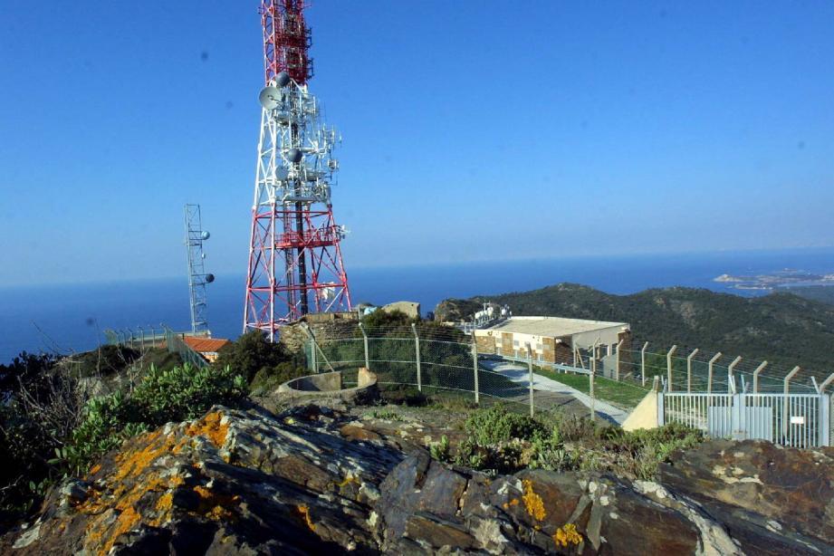 L'émetteur du Cap Sicié.