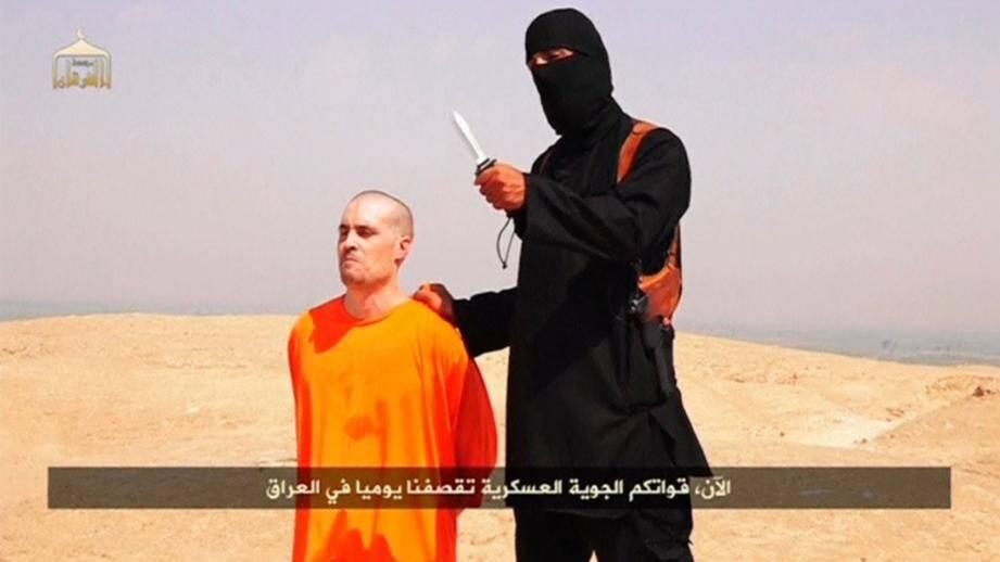 L'éxécution du journaliste américain James Foley en Syrie