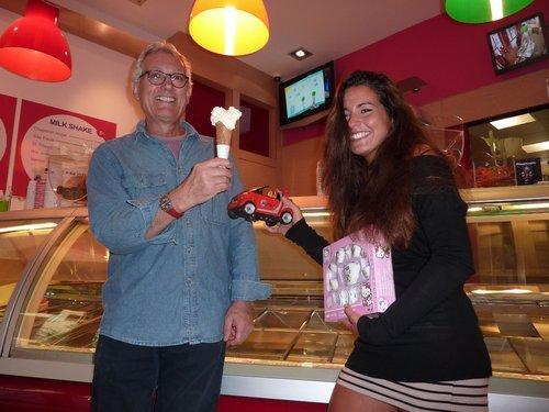 Roberto, champion de France de la crème glacée.