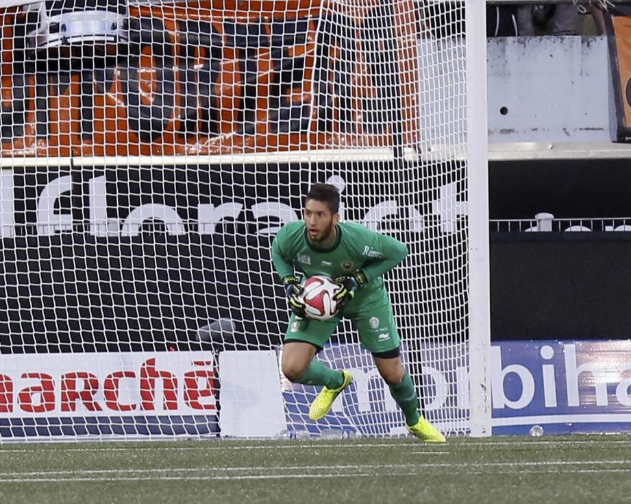 Hassen a fait état de tout son talent pour préserver sa cage face à Lorient (0-0).