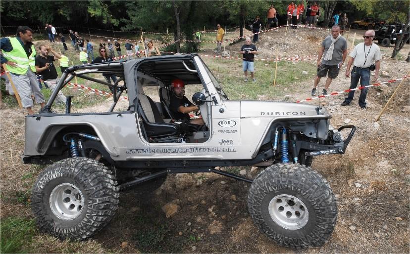 VIDEO. Les Jeep s'en donnent à coeur joie à Forcalqueiret