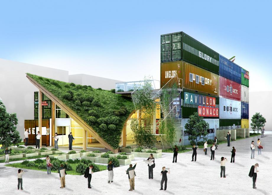 Lors de l'Exposition universelle qui se tiendra à Milan en 2015, le Pavillon de Monaco se situera entre l'Arabie Saoudite et le Japon.