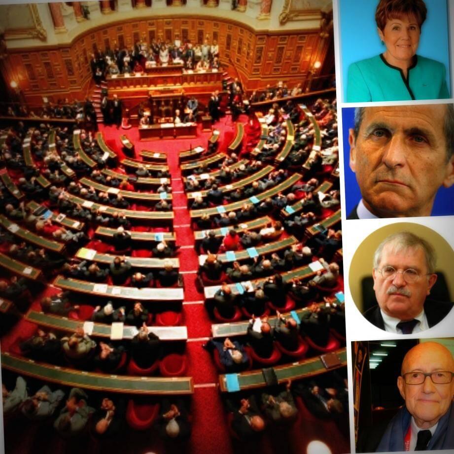 Christiane Hummel, Hubert Falco, Pierre-Yves Collombat et François Trucy  ont versé 619.980 euros à plusieurs communes du Var grâce à leur réserve parlementaires du Sénat.