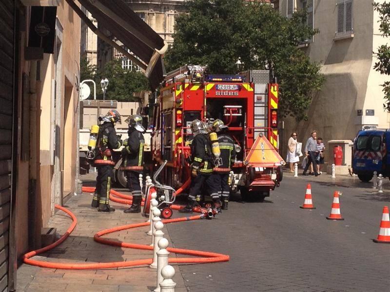 D'importants moyens ont été engagés afin d'éviter une propagation des flammes dans le centre-ville.