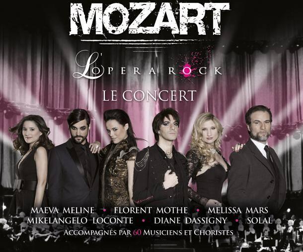 Mozart Opéra Rock , le Concert .