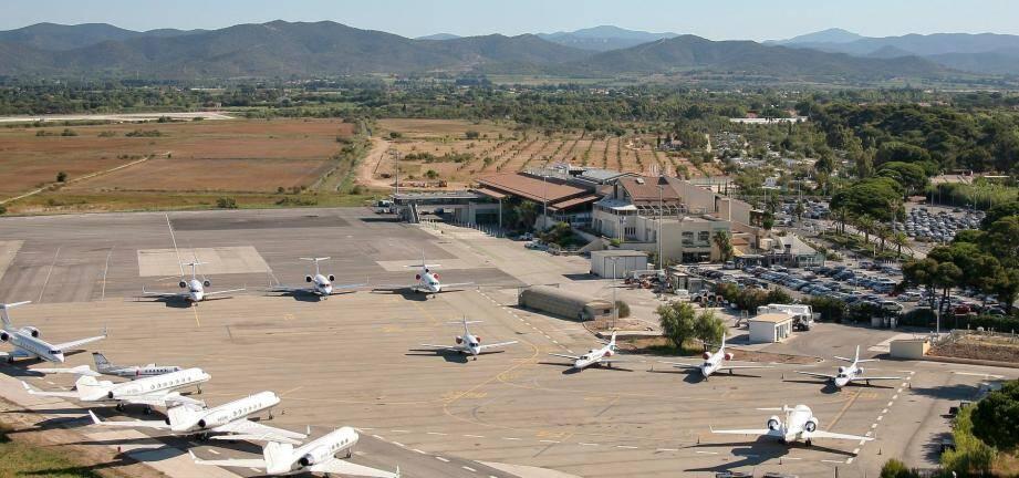 L''aéroport de Toulon-Hyères.