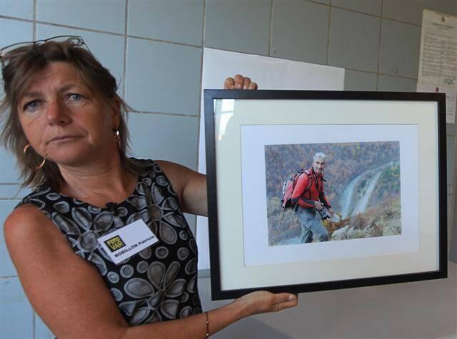 Membre du club Photo de Menton, Patricia rend hommage à son ami Hervé Gourdel.