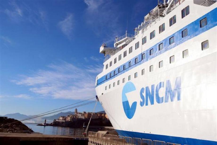 Un bateau de la SNCM illustration