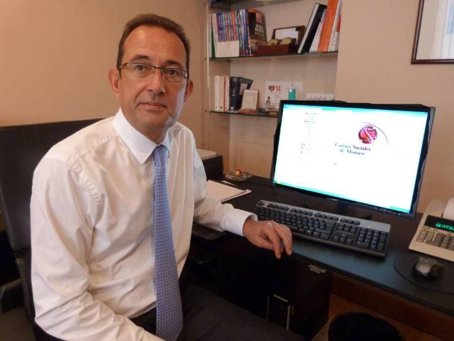 Pour le directeur des Caisses sociales de Monaco Jean-Jacques Campana, la dématérialisation est un atout tant pour les assurés que pour les Caisses elles-mêmes, qui gagnent ainsi en productivité.