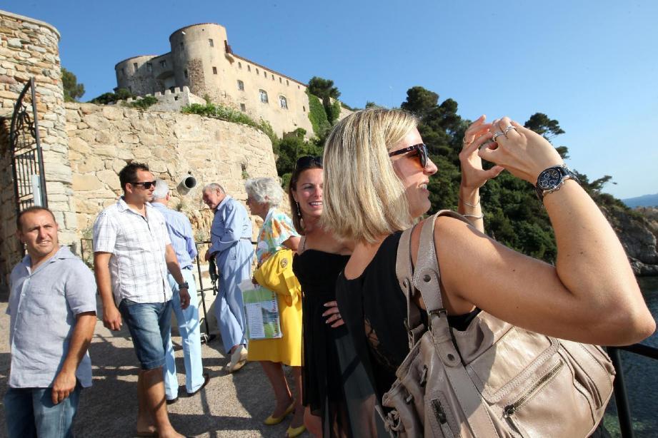 Pour sa première année d'ouverture au public, le fort de Brégançon a connu un remplissage de 95 %.