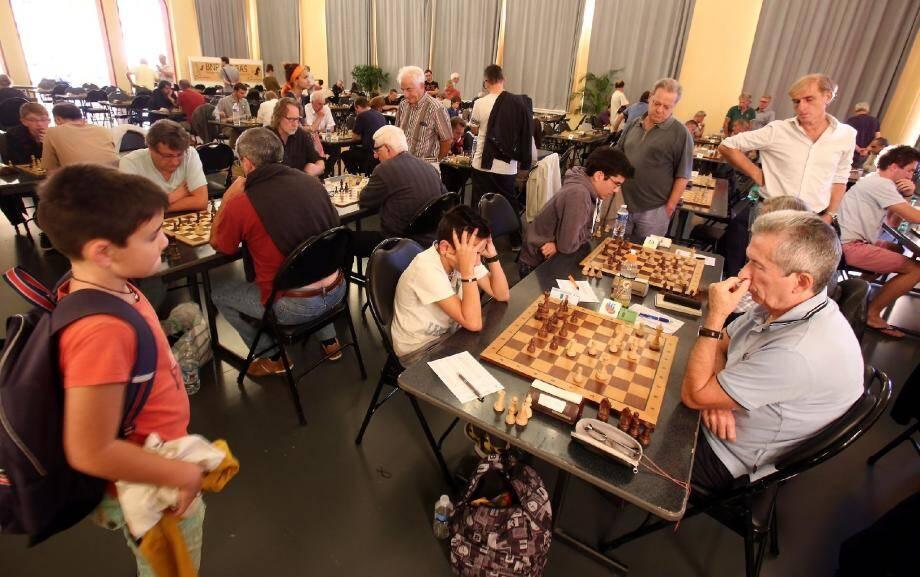 L'Open d'échecs de Menton bat son plein au palais de l'Europe. Le vainqueur sera connu ce week-end.