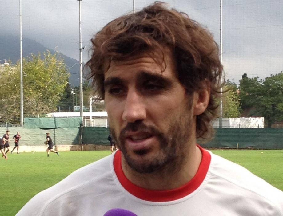 Juan Martin Fernandez Lobbe chez lui à Toulon