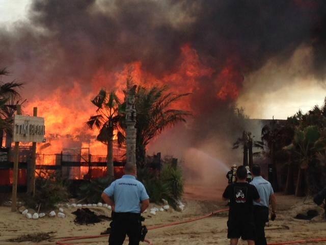 Ramatuelle: le Tiki Beach part en fumée à Pampelonne