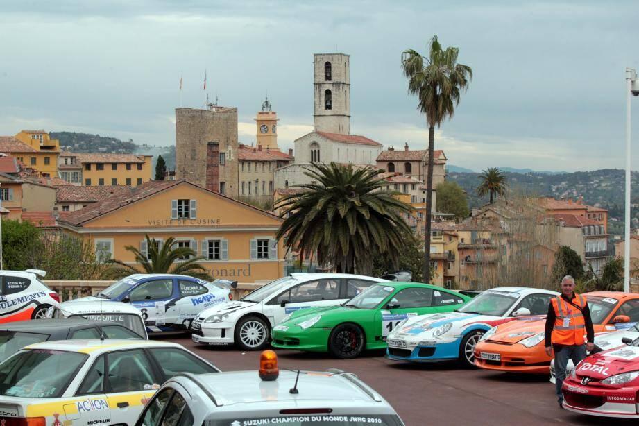 Le Rallye de Grasse passe à la vitesse supérieure en faisant partie en 2015 du championnat de 2e division.