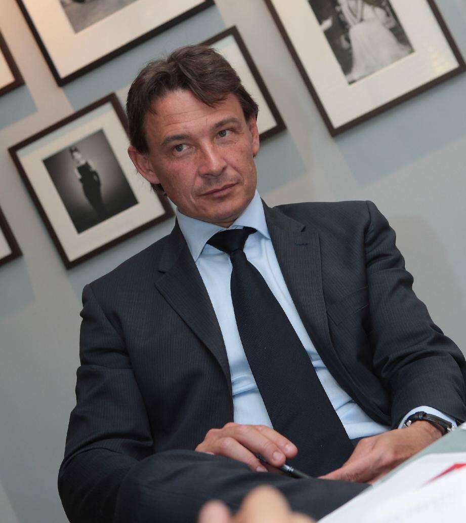 Thierry Manni, président du conseil d'administration du groupe Mecaplast.