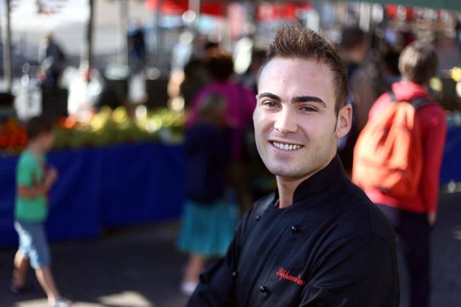 Stéphane Garcia, chef de partie à l'hôtel Méridien, a terminé deuxième du concours international.