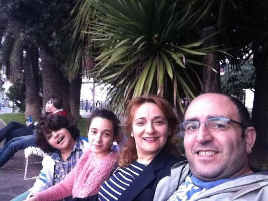 La famille Sallamah a fui Alep et la guerre le 2 août 2012.