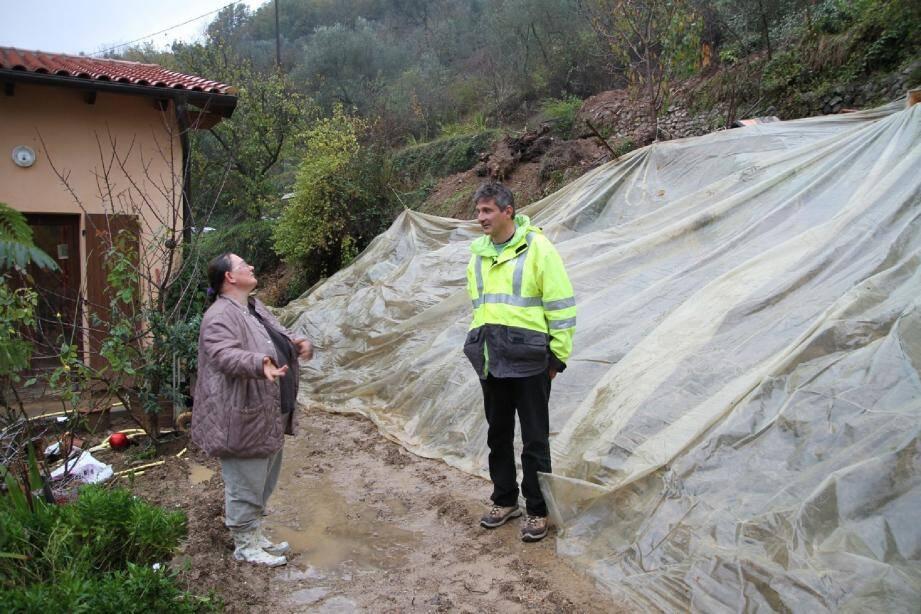 La municipalité, par la voix de l'adjoint à l'urbanisme Dominique Cesarini appelle tous les riverains à remettre une copie de leur déclaration de sinistres avec photos pour permettre à la commune d'obtenir la reconnaissance d'état de catastrophe naturelle.