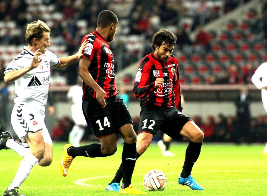Tenus en échec par Reims, les Niçois n'ont pas marqué des points auprès de leurs supporters.