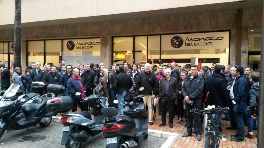La moitié des salariés de Monaco Telecom mobilisés contre un plan de départs volontaires